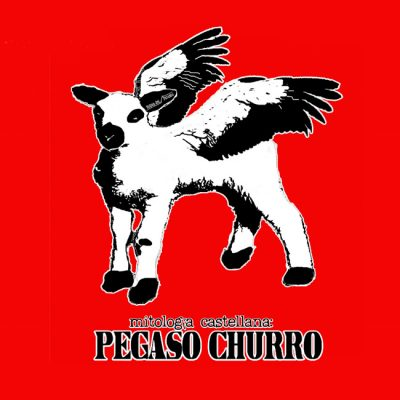 camiseta pegaso churro