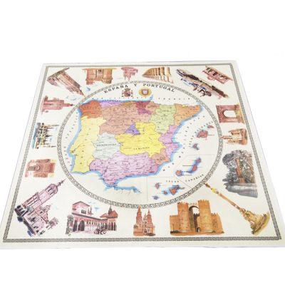 zhm09-hule-mapa-vintage-espana-y-portugal