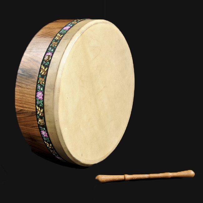 Baqueta para tambor de bodhran irland/és Highland Kilt varios dise/ños//puntas celtas marco de madera