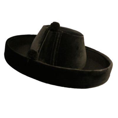 sombrero velludo