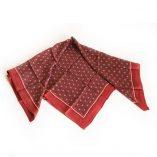 panuelo seda rojo
