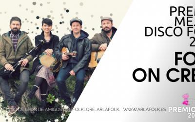 Folk on Crest, Premio MT mejor disco folk del Reino de León 2019