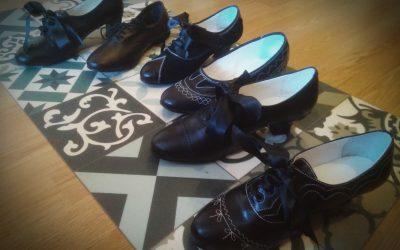 Zapatos a la antigua