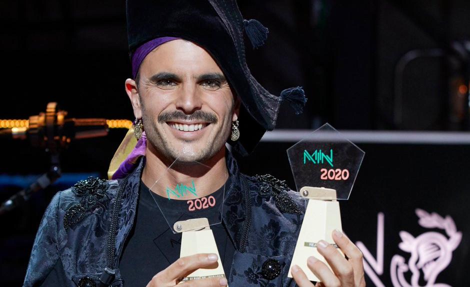 Rodrigo Cuevas, Mejor Artista Emergente en los Premios MIN 2020
